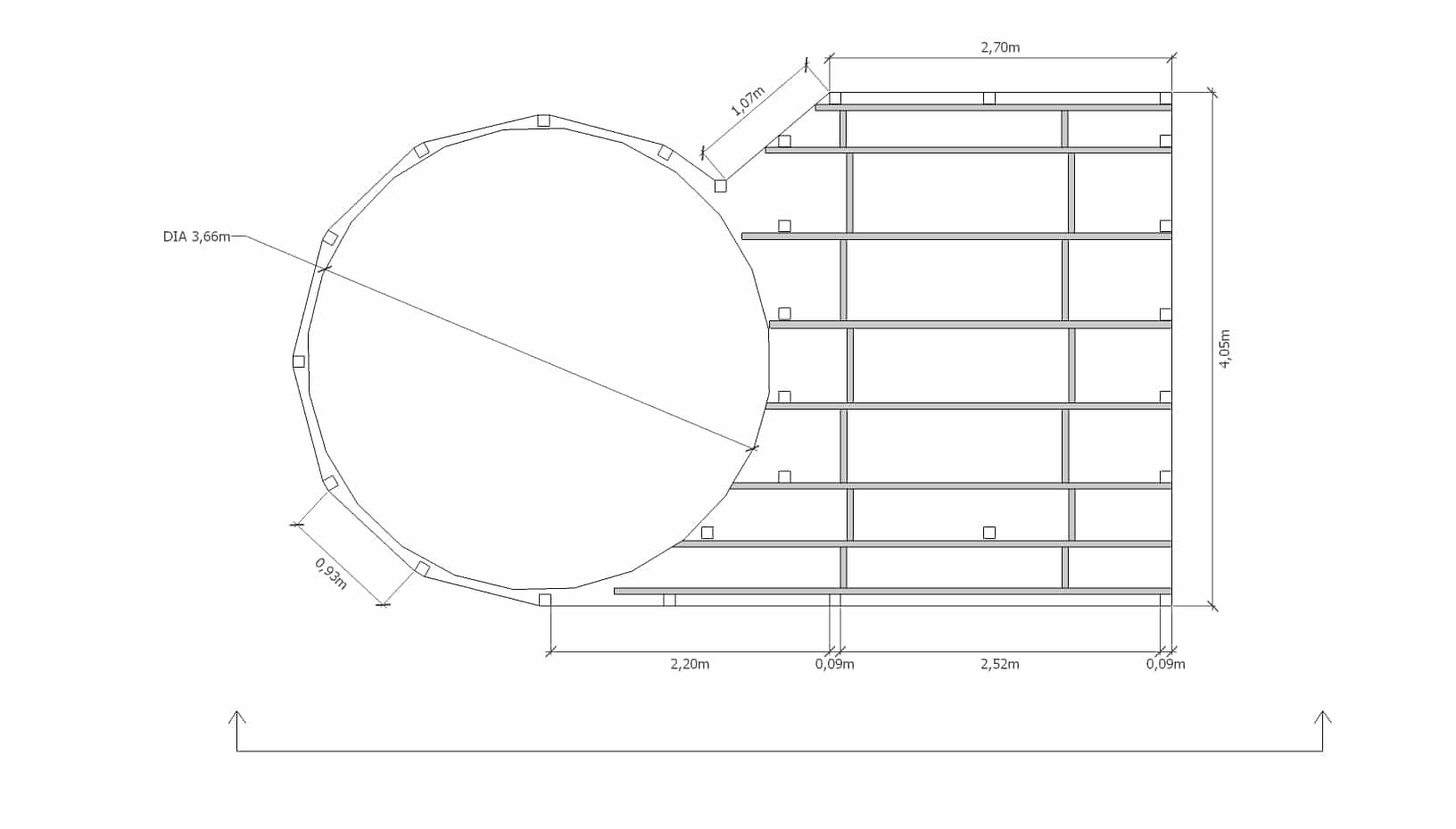 Tuto Déco: Aménager Une Terrasse Autour D'Une Piscine ... tout Plan De Coupe Piscine