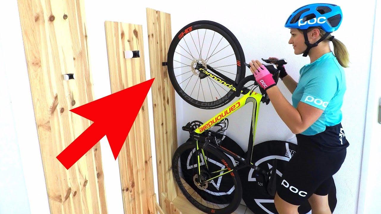 Tuto: Mon Porte-Velo Fait Maison Ultra Pratique ! avec Range Vélo Palette
