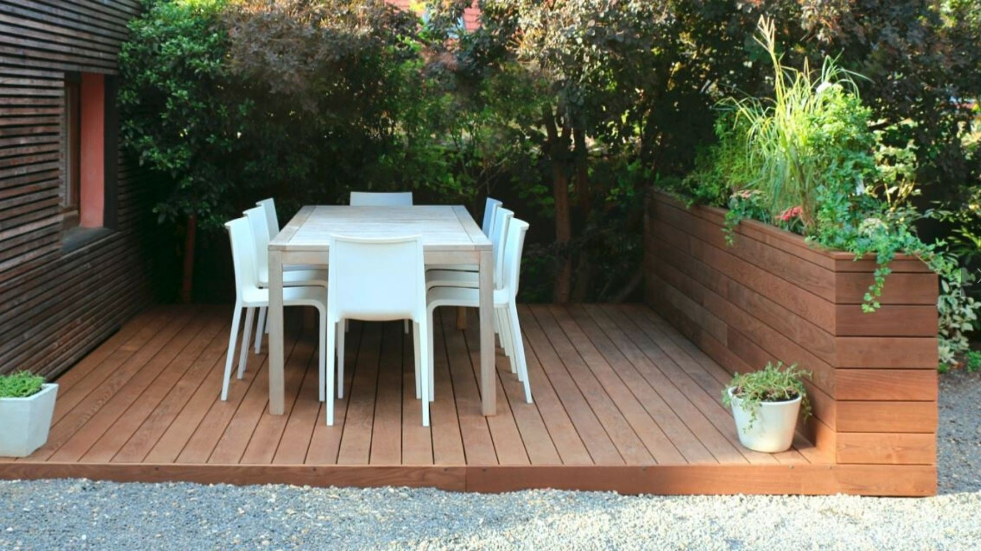 Tutoriel : Installer Une Terrasse Surélevée Sur Plots intérieur Terrasse Bois A Derouler