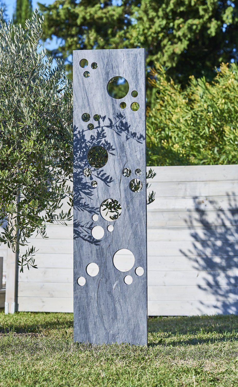 Un Panneau En Ardoise, Original Dans Le Jardin | Design De ... intérieur Idee Deco Jardin Avec Ardoise