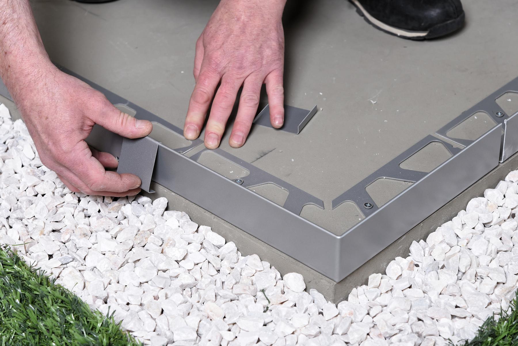 Un Profilé Aluminium Pour Une Finition Soignée - Vert & Pierre tout Profil Alu Pour Terrasse Sur Plot