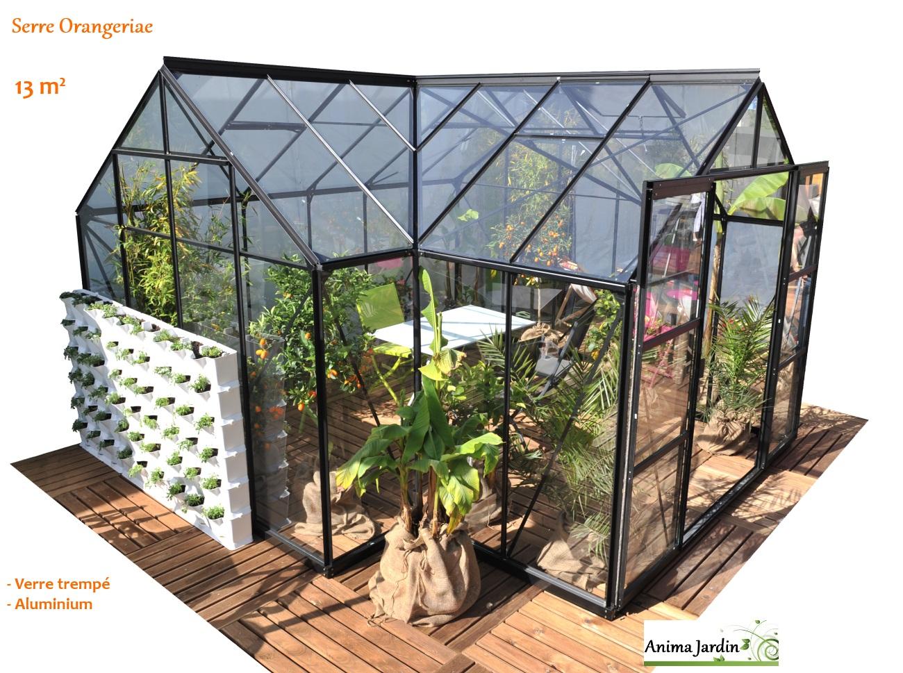 Vente De Serre De Jardin – Gamboahinestrosa avec Serre Komat Occasion