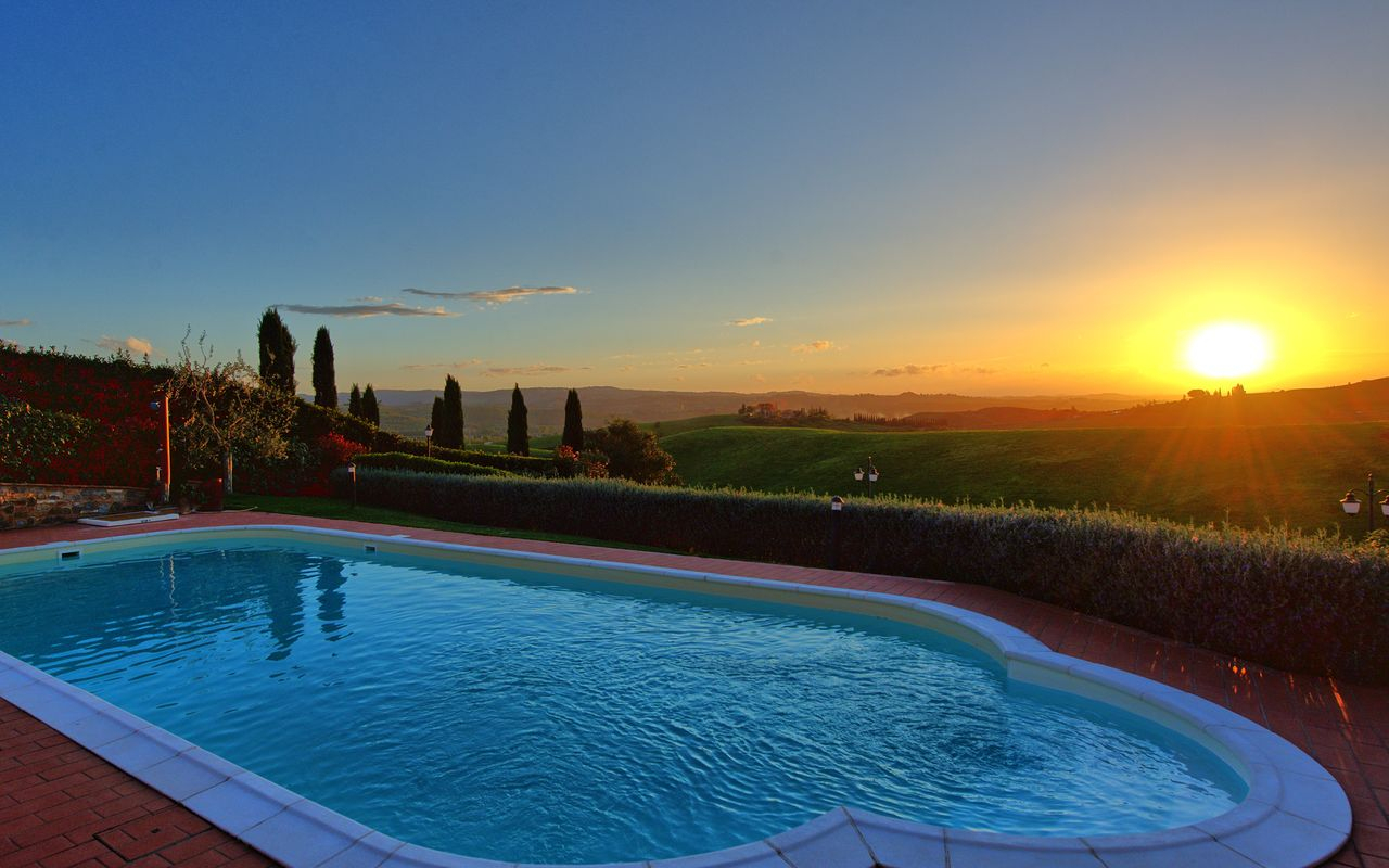 Villa Toscane 6 Pers. Florence 40 Km Piscine Privée Panorama (3) serapportantà Taxe Piscine 2017