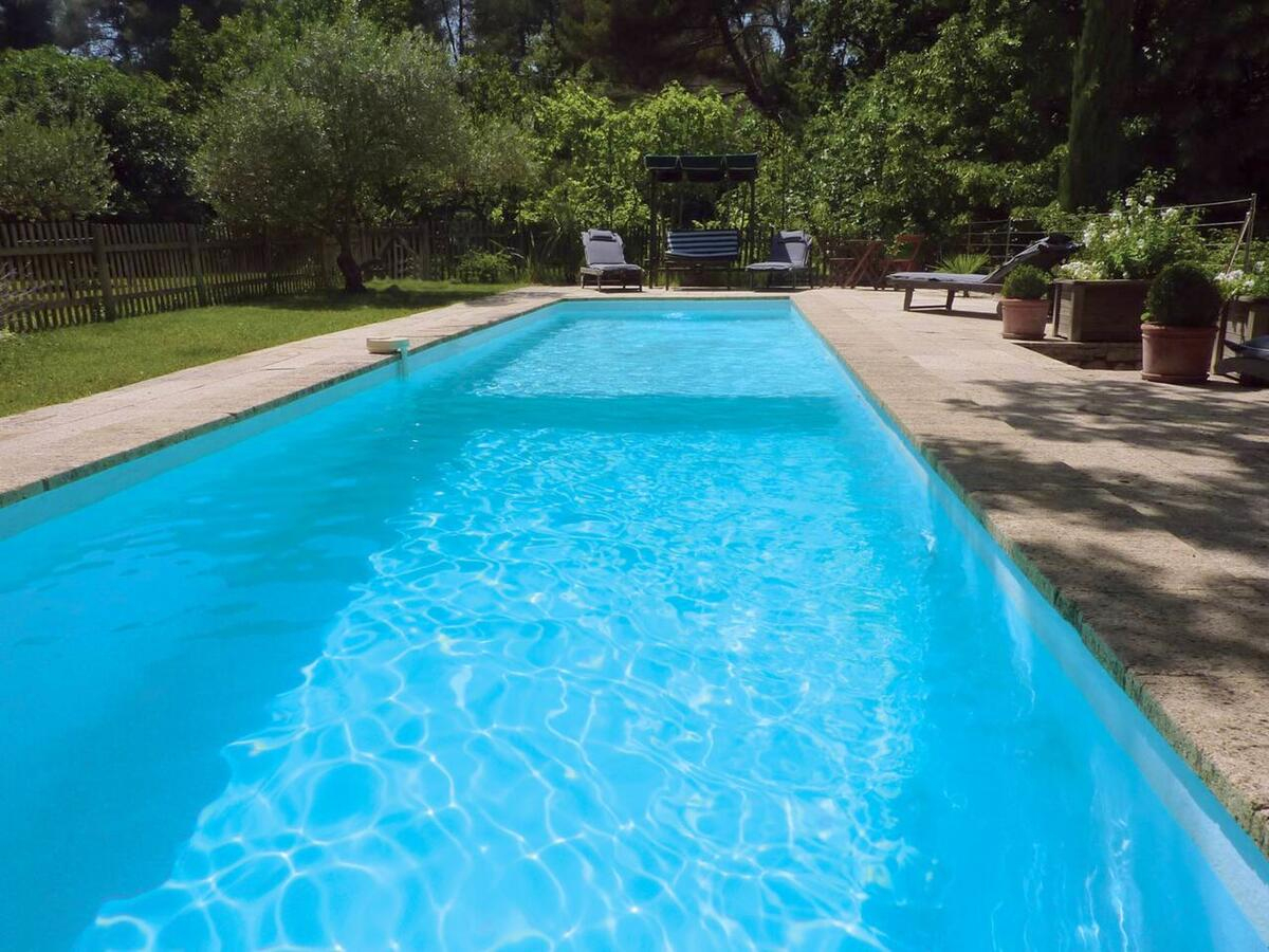 Villa With 4 Bedrooms In Fuveau With Wonderful Mountain View ... à Horaire Piscine Fuveau