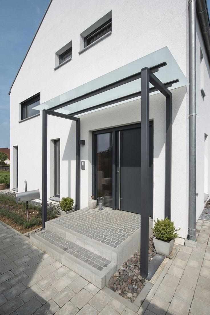 Weberhaus – Encore Un Weberhaus En 2020   Porche Entrée ... pour Terrasse Couvertemoderne