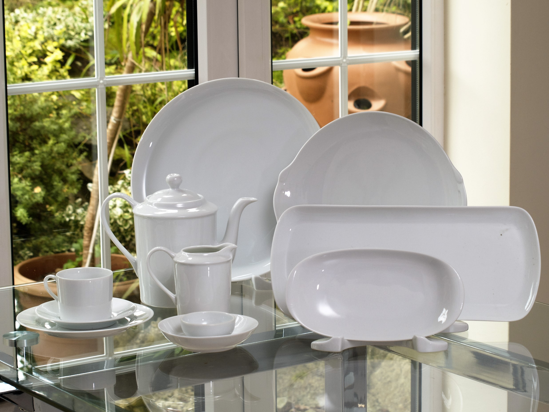 White Canape / Buffet Serving Set 30 Piece - Giftware Collection tout Canapé Eternity But