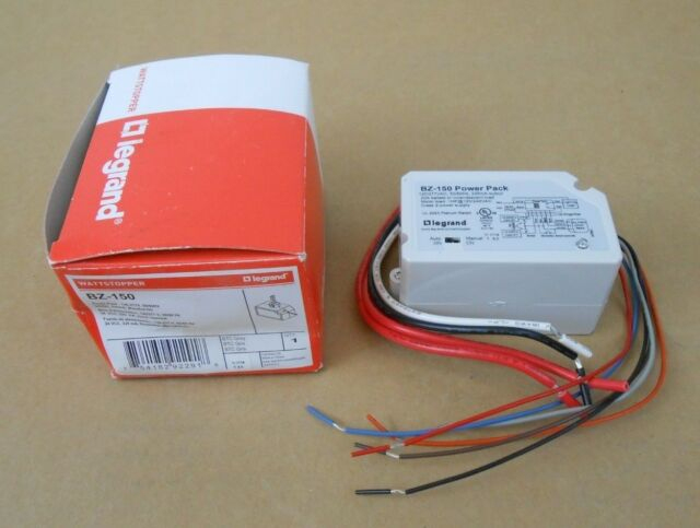 1 Nib The Watt Stopper Bz-150 Bz150 Power Pack 24 Vdc 120 ... encequiconcerne Bz 120