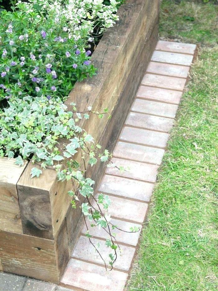 1001 + Idées Déco Fantastiques Avec Bordure De Jardin tout Parterre Gravier