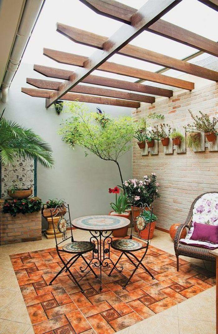1001+ Idées Pour Votre Terrasse Couverte+ Les Réalisations ... intérieur Terrasse Couverte Moderne