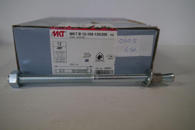 12-105-120/200 Bolzenanker Bz Plus Verzinkt - 6 Stück | Ebay encequiconcerne Bz 120