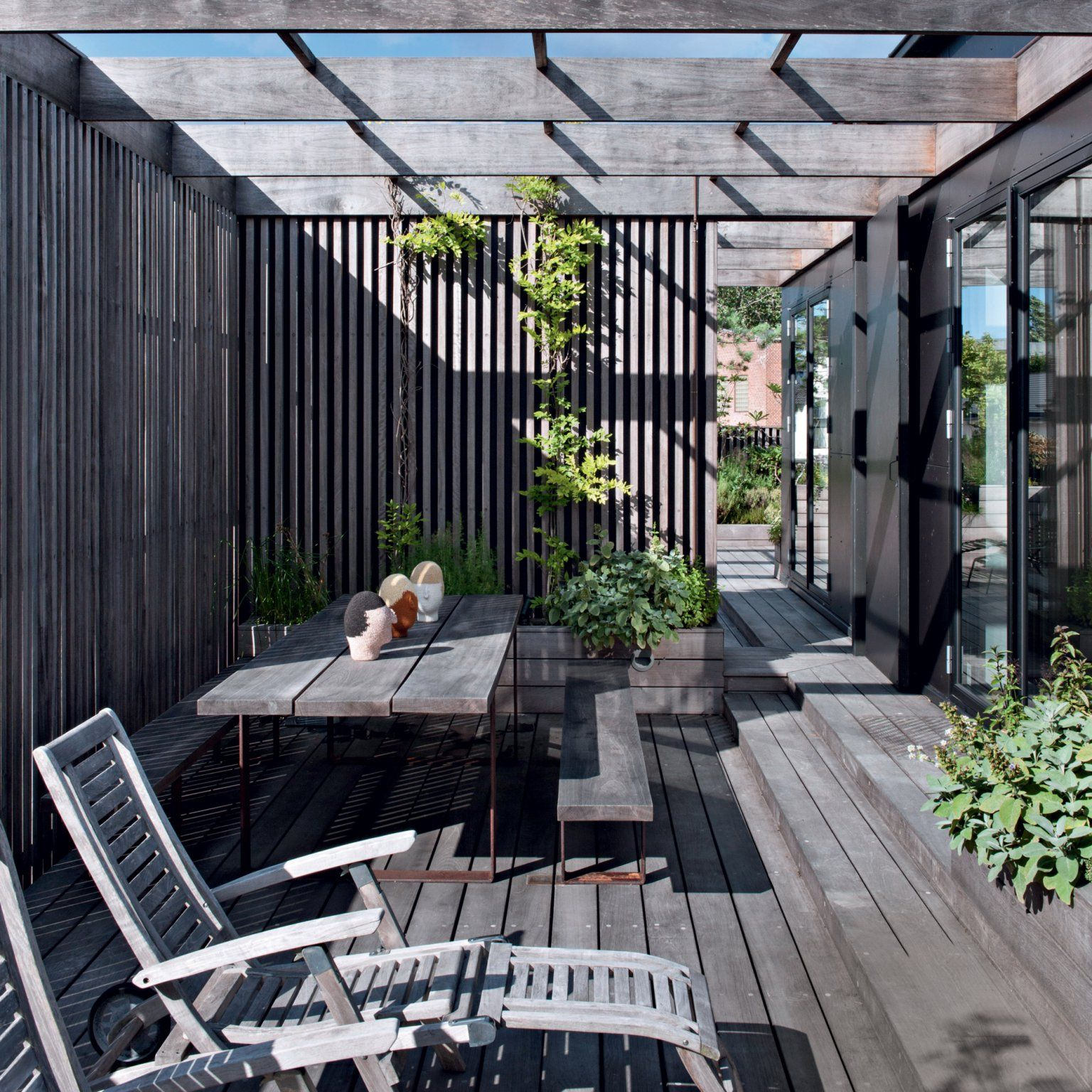 15 Exemples De Terrasses En Bois Irrésistibles | Terrasse ... dedans Toit Terrasse Sans Acrotère