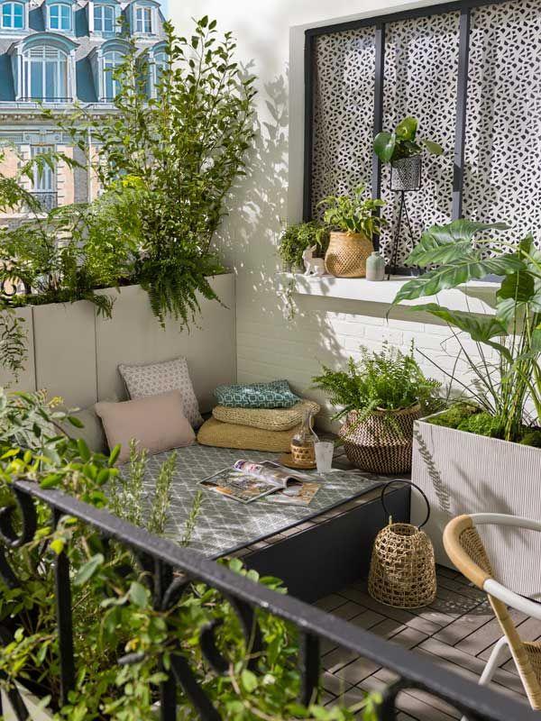 15 Idées Inspirantes Pour Faire De Son Balcon Un Petit ... encequiconcerne Fermer Un Balcon Avec Du Plexiglas