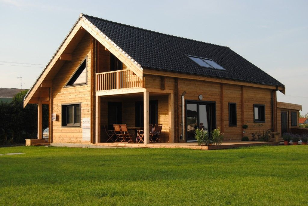 2-Storey Houses | Nordictimberhomes | Modern Barn House ... pour Chalet Pologne Kit
