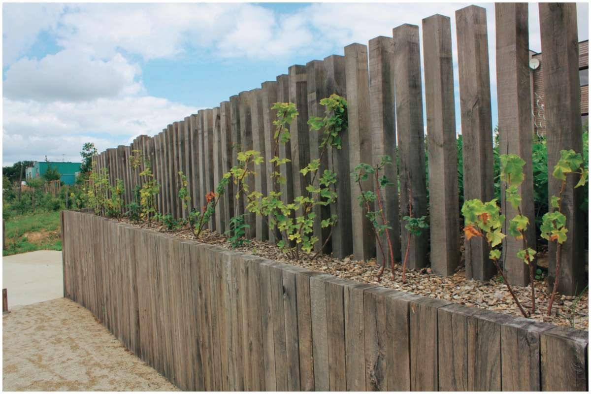 201 Bordure Ardoise Point P 2019   Garden Design, Garden, Wood encequiconcerne Bordure Aluminium Point P