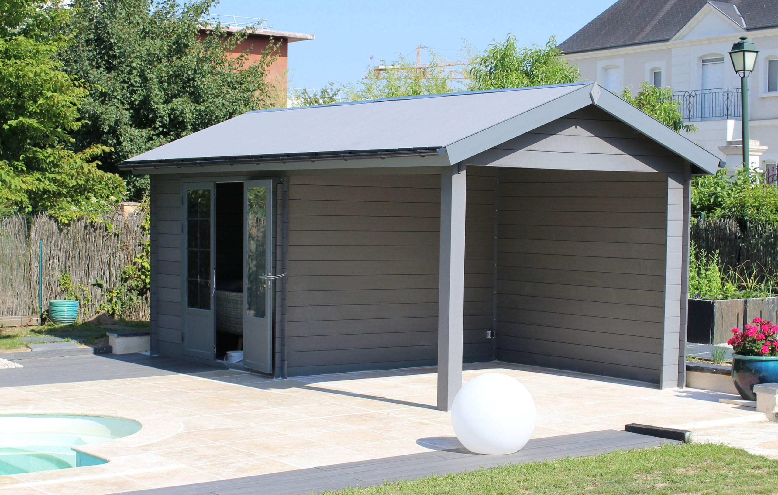 Abri 6×3 Toit Traditionnel - Green Outside serapportantà Abri De Jardin Aluminium Double Paroi