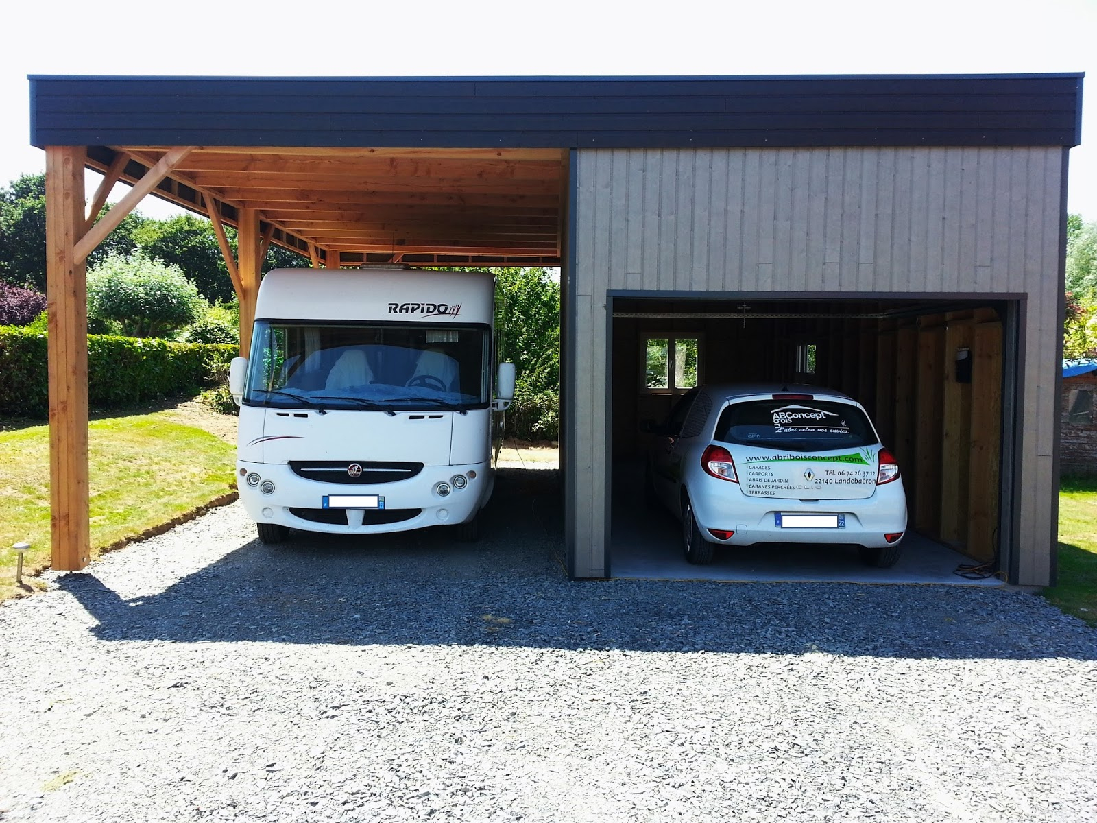 Abri Bois Concept: Abris Bois Concept concernant Abri Camping Car Brico Depot