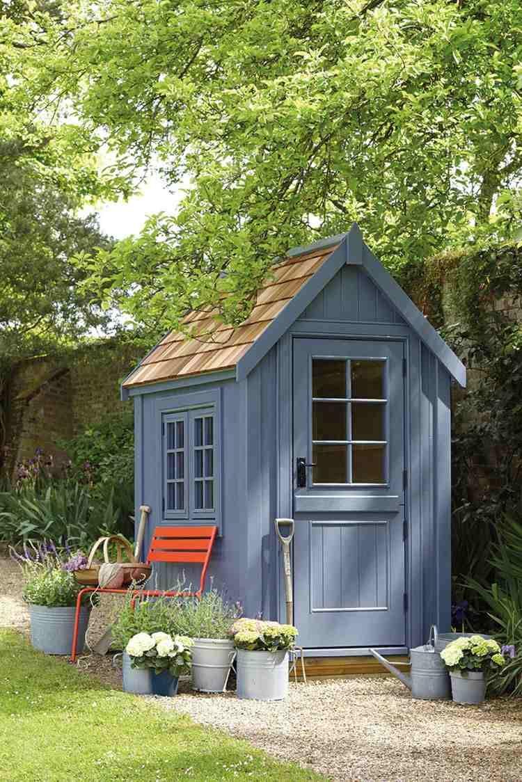 Abri De Jardin -23 Idées Pour Mieux Utiliser Votre Cabane ... à Abri De Jardin Pour Télescope