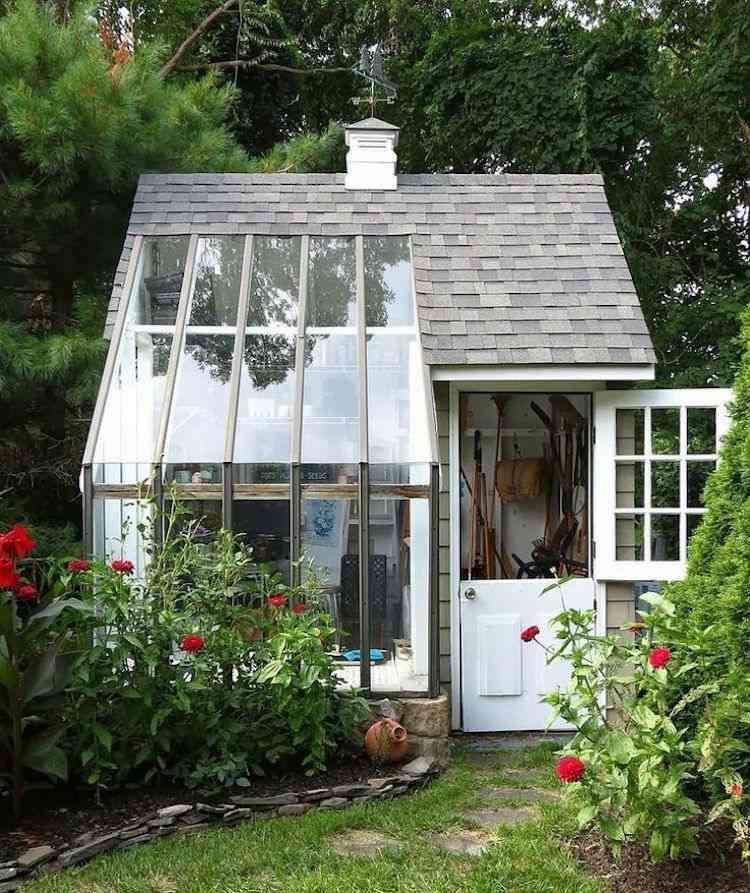 Abri De Jardin -23 Idées Pour Mieux Utiliser Votre Cabane pour Green Outside Abri De Jardin