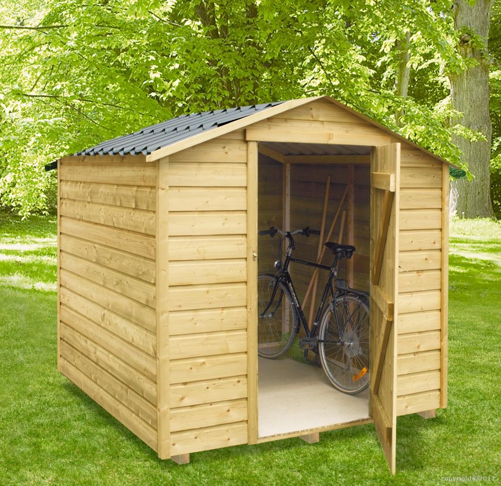 Abri De Jardin 4M2 Bois - Clairval Abrisbois4 : Mobil-Home ... dedans Abris De Jardin Jardiland