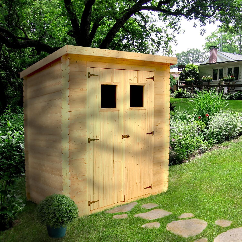 Abri De Jardin Bois 3,05 M2 : Trigano Store destiné Abri De Jardin Initia