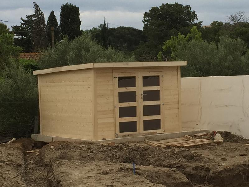 Abri De Jardin Bois Kuma Évolution, 8.65 M² Ep.28 Mm ... tout Abri De Jardin Naterial Kerno Axess