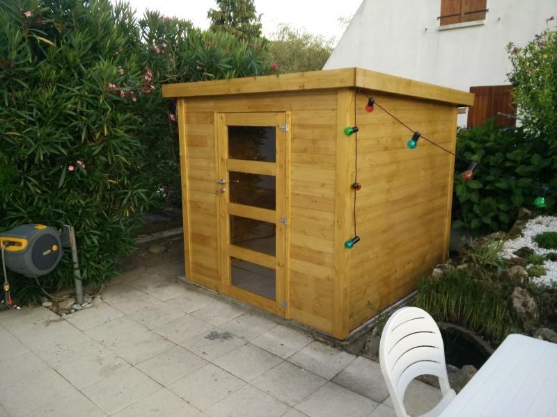 Abri De Jardin Bois Naterial Kipla Axess Ep.19 Mm, 3.81 M² ... avec Naterial Kerno Axess