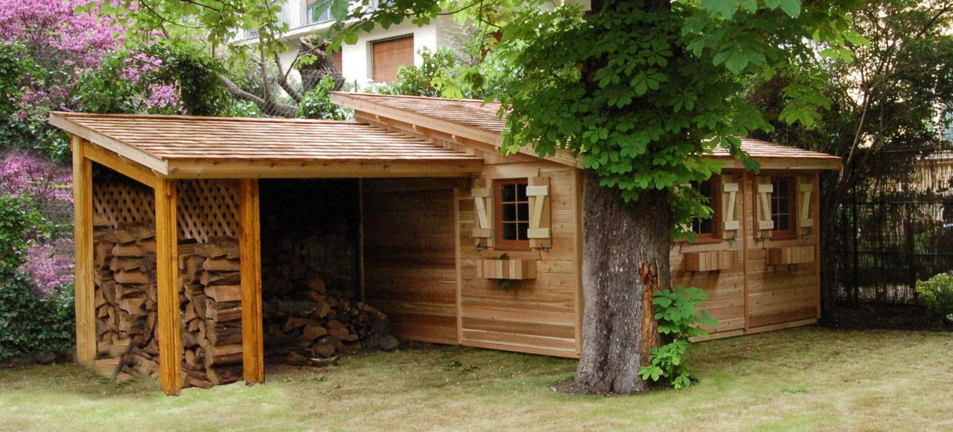 Abri De Jardin En Bois 1 Pente De 5M2 À 11M2 Le Quimper destiné Abri De Jardin Une Pente Castorama