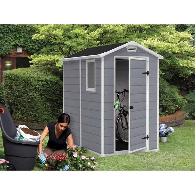 Abri De Jardin Résine Premium 46 Gris - 2 M² Gris Keter ... destiné Abri De Jardin Initia