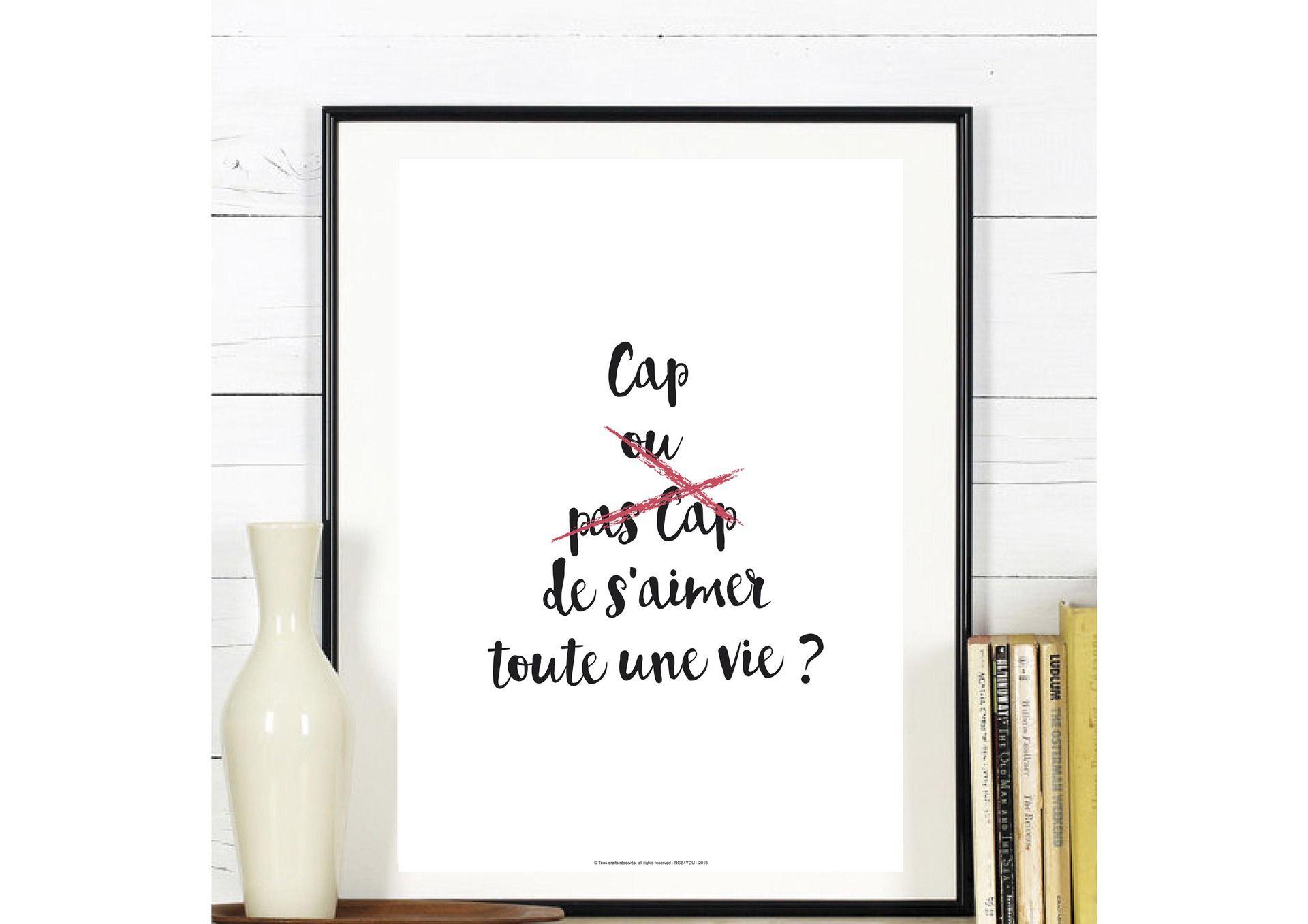 Affiche Collection 'Cap Ou Pas Cap' - A Télécharger ... concernant Cap Ou Pas Cap Ado Amour