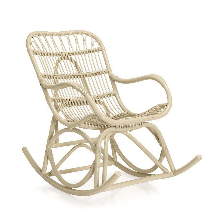 Alinéa Fauteuil Rotin   Fauteuil Rocking Chair, Fauteuil ... destiné Fauteuil Suspendu Alinea