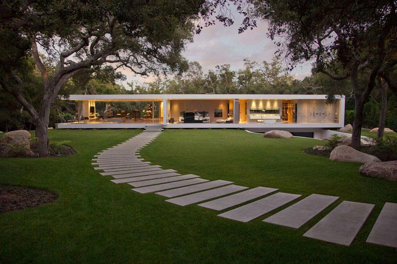 Allée De Jardin : 14 Idées Pour Créer Une Allée De Jardin ... intérieur Jardin Devant Maison Moderne