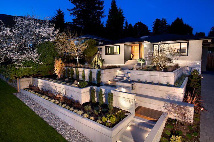 Aménagement Jardin Devant Maison En 50 Idées Modernes destiné Amenagement Exterieur Idee