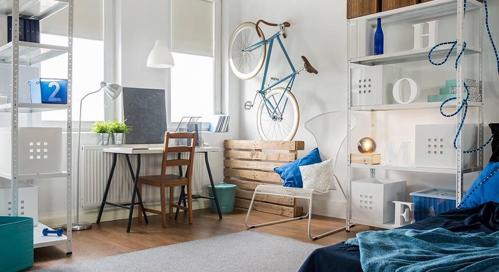 Aménager Un Petit Appartement : 7 Astuces Spéciales Mini ... tout Lit Qui Descend Du Plafond