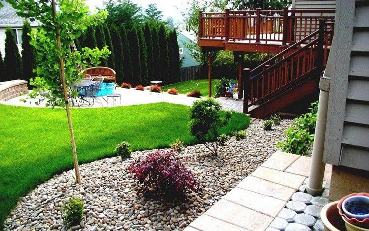 Aménager Un Petit Jardin, Coin De Repos Et Aire De Jeux ... concernant Concevoir Un Petit Jardin Anglais