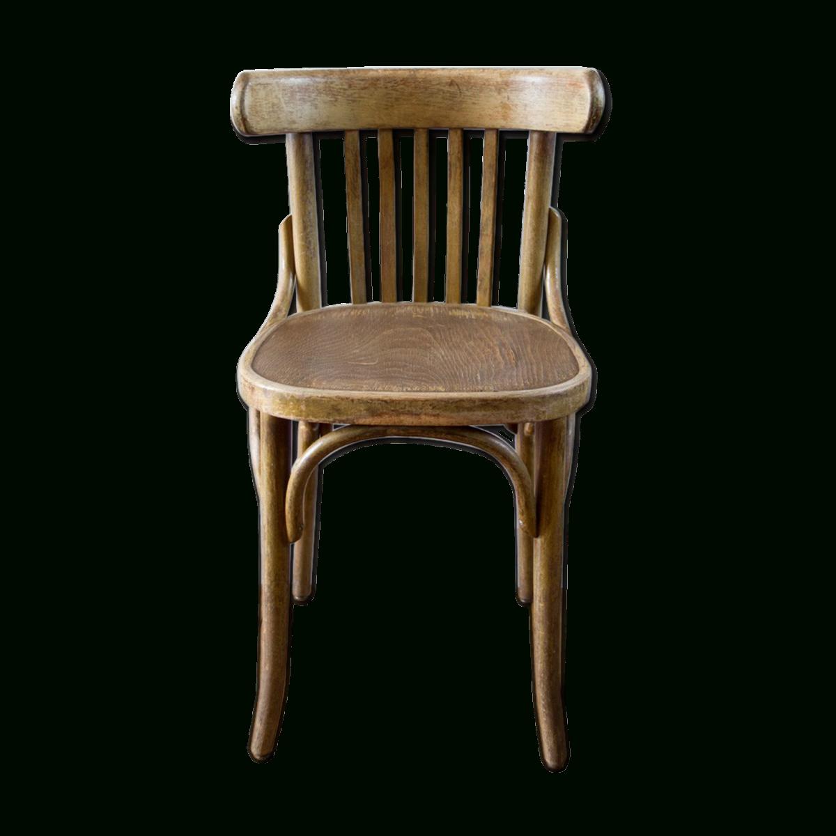 Ancienne Chaise Bistrot De Couleur Marron. tout Chaises Bistrot But