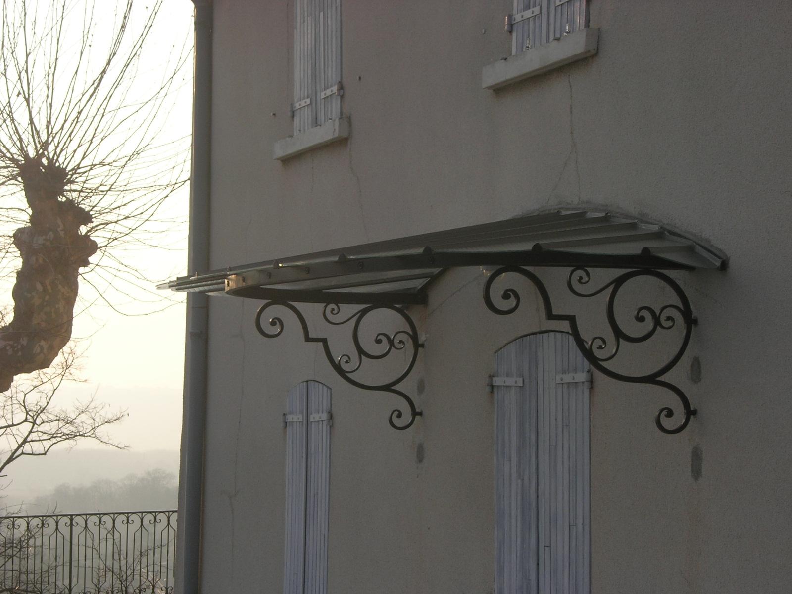 :: Atelier Tavernier :: Ferronnier D'Art À Lyon Dans Le ... à Marquise De Porte Ancienne