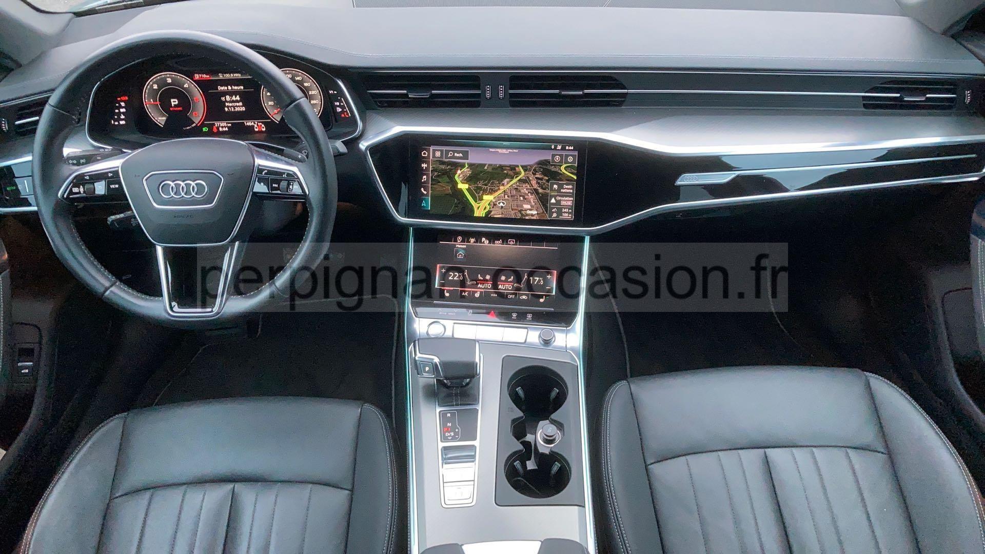 Audi A6 Perpignan - 201545 - Perpignan-Occasion.fr pour Cuir Center Perpignan