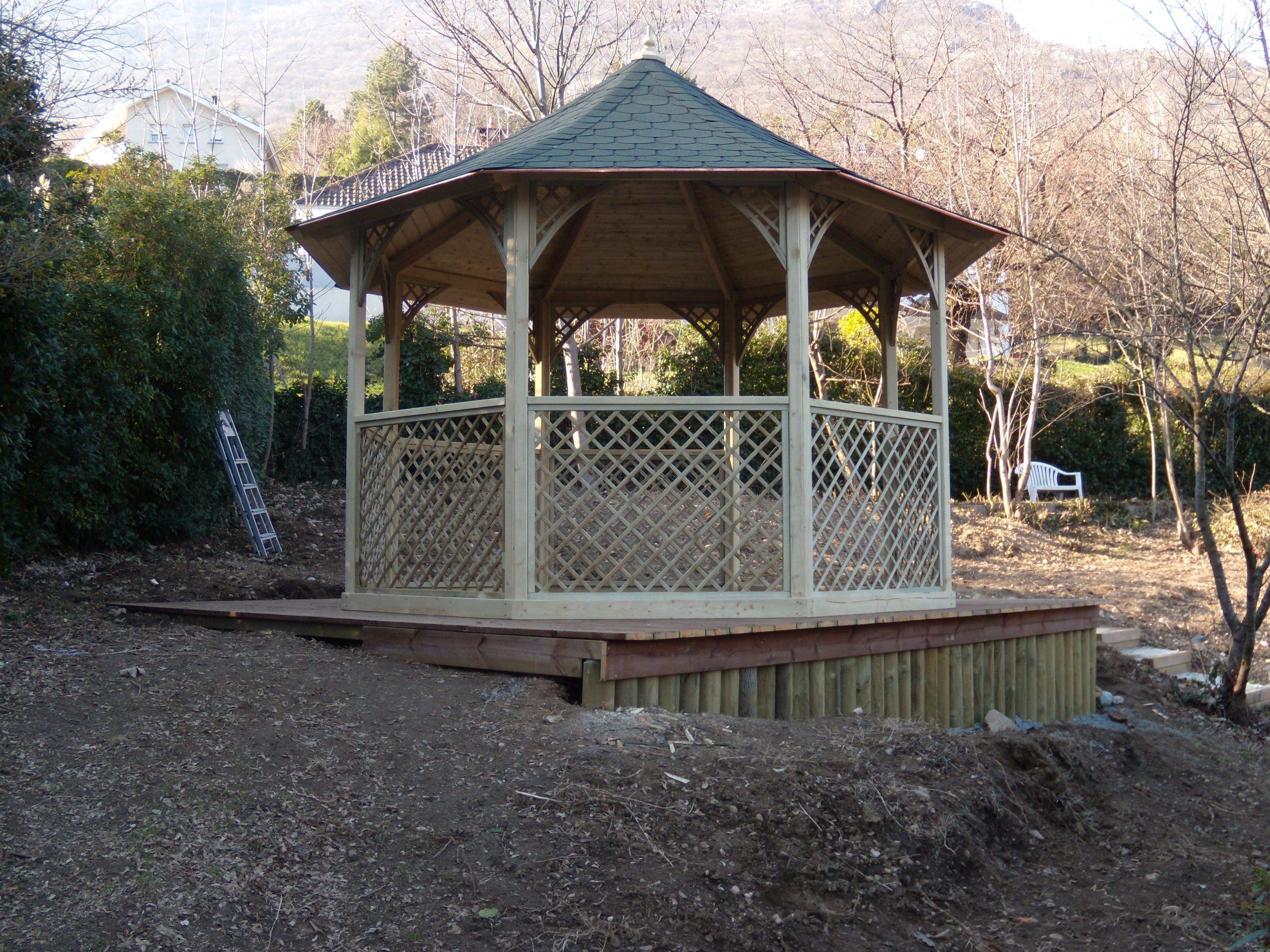 Auvents - Abriland concernant Gloriette Bois Occasion