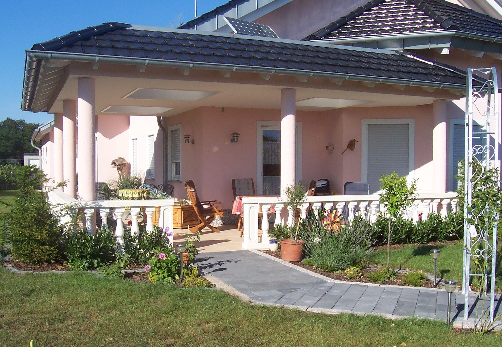 Balustrade En Pierre Reconstituée (Béton Blanc). Modèle ... tout Terrasse Couverte Avec Poteaux Beton