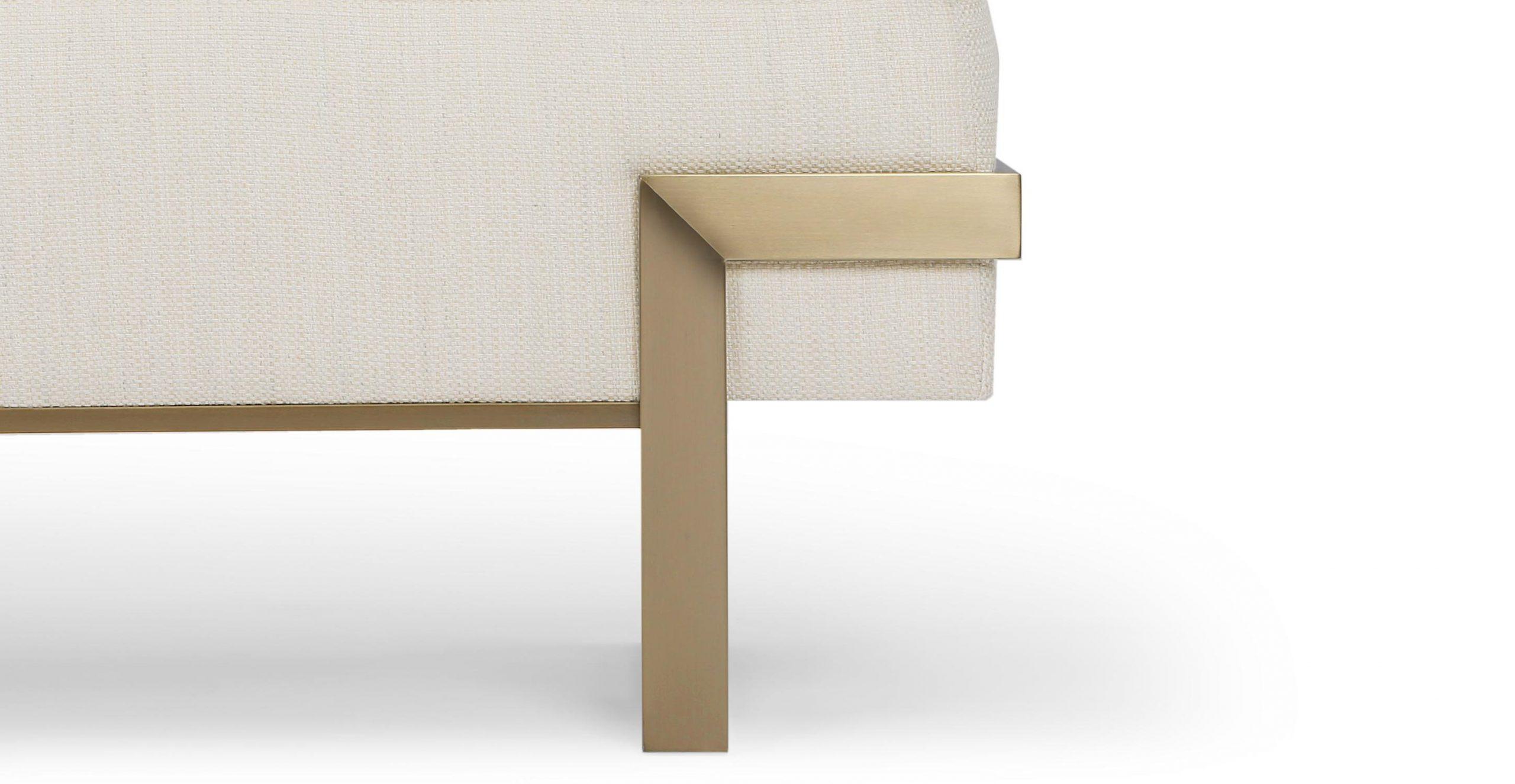 Banc Design - Beige Nordique & Laiton - Nv Gallery ... destiné Meuble Tv Vertigo But