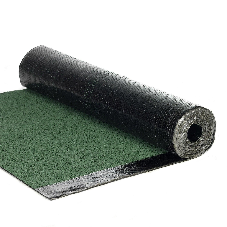 Bardeau En Rouleau Vert L.1 X L.7.5 M Asphaltco | Leroy Merlin serapportantà Rouleau Etancheité