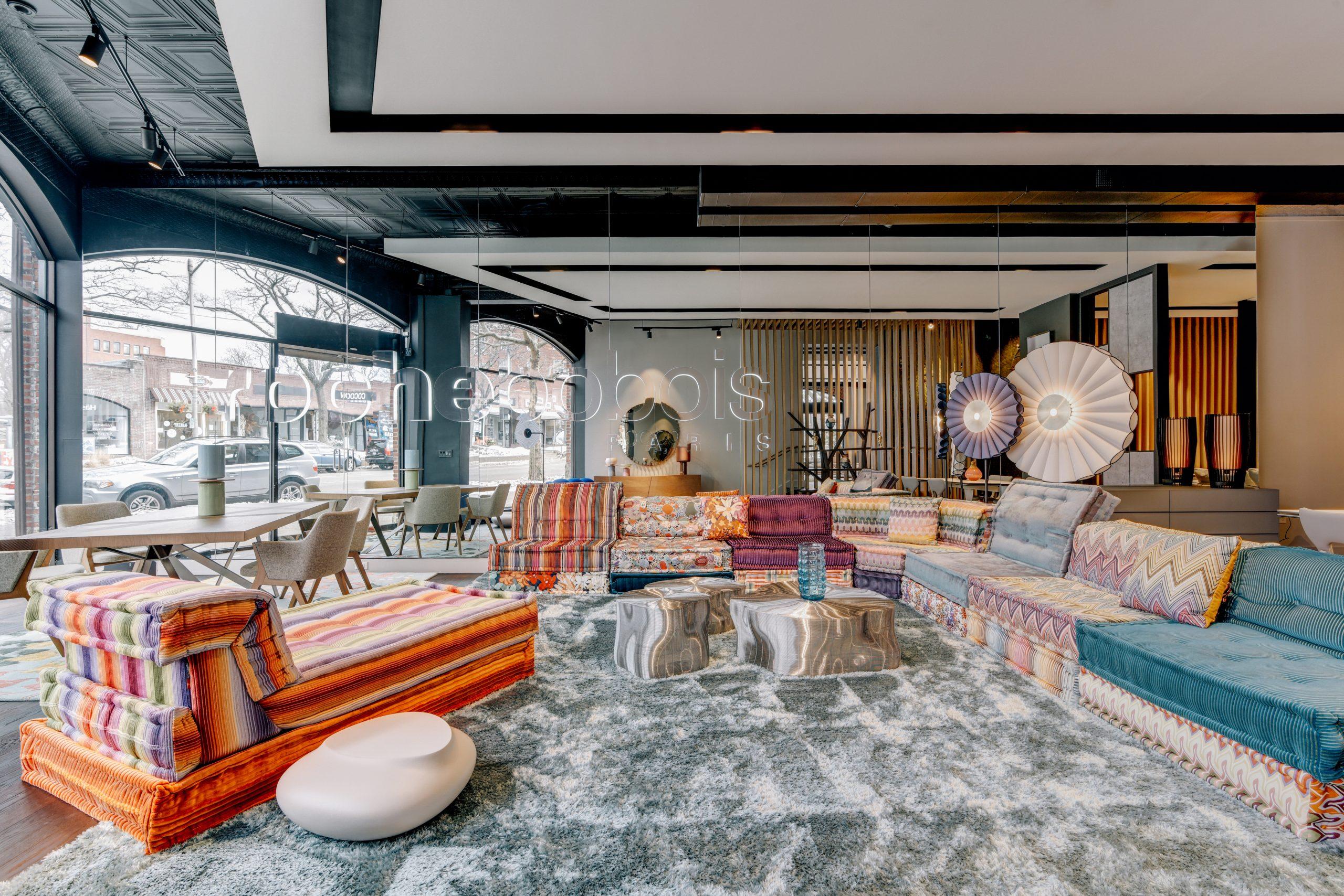 Behind The Scenes: Roche Bobois | Greenwich Design District avec Roche Bobois Theoreme