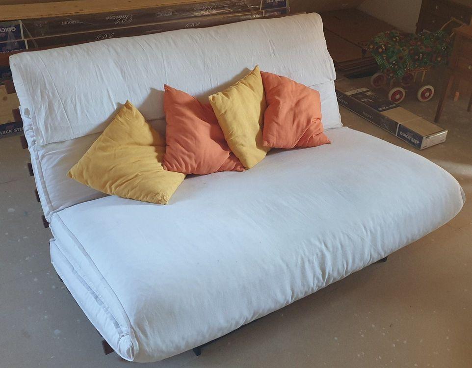 Bettsofa Futon Von Ikea | Kaufen Auf Ricardo tout Futon 1 Place Ikea