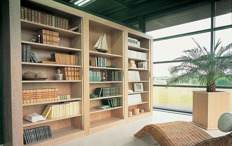 Bibliothèques Sur Mesure À Nantes - Leray Menuiserie dedans Living Store Nantes