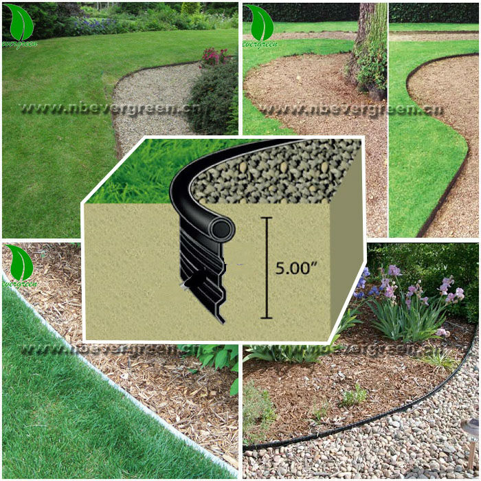 Black Plastic Garden Edging - Buy Garden Edging,Garden ... tout Bordure Jardin Pvc Castorama