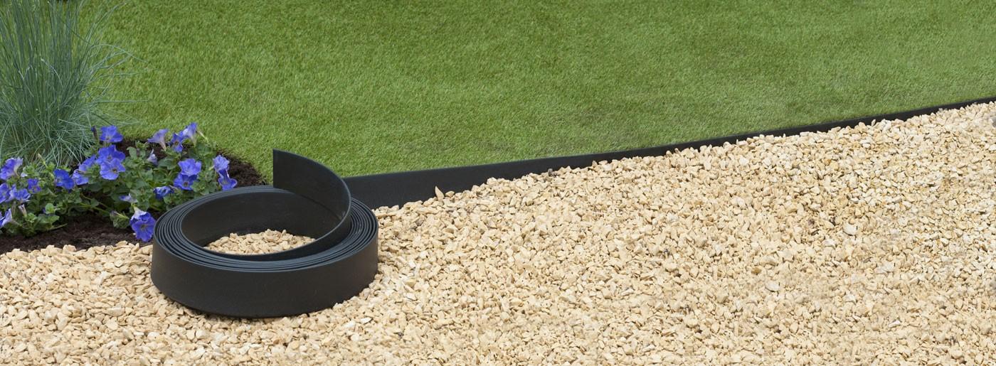Bordure De Jardin En Polyuréthane 500 X 0,45 X 12 Cm Noire dedans Bordure Pvc Castorama