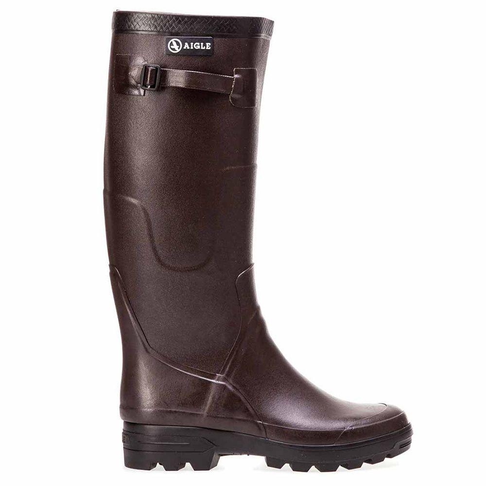 Bottes Femme En Caoutchouc Benyl M - Aigle - Taille 37 ... encequiconcerne Chaussures Aigle Gamm Vert