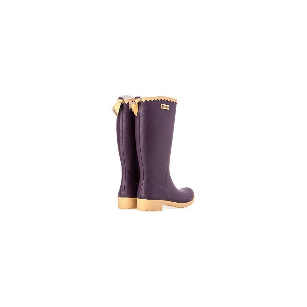 Bottes Femme En Caoutchouc Victorine - Aigle - Taille 35 ... serapportantà Chaussures Aigle Gamm Vert