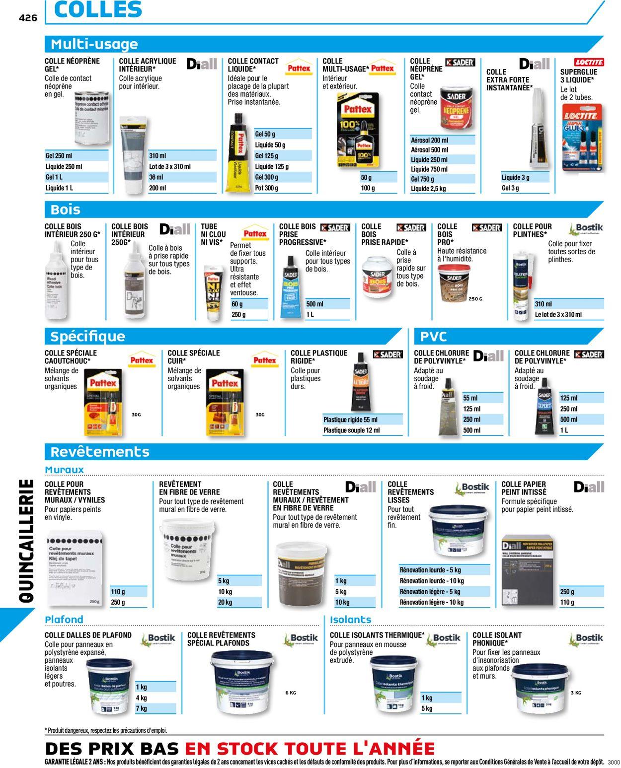 Brico Dépôt Catalogue Actuel 20.08 - 03.03.2021 [426 ... concernant Goudron Liquide Brico Depot