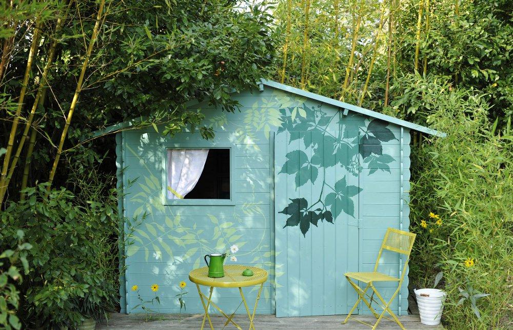 Cabane De Jardin Peinture Maison - Marie Claire tout Maisonnette Bois Camille